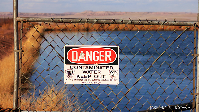 Contaminated Uranium Mine